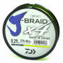 Шнур Daiwa J-Braid X4 0.10мм 270м Dark Green